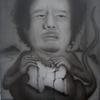 GADDAFI - 16x24 inches on canvas