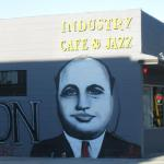 Al Capone Mural by Viral one , Located at The Prohibition Gallery  , Culver City , Los Angeles.  www.viral-one.com